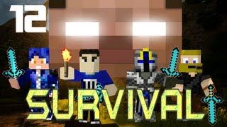 MULTIPLAYER MINECRAFT SURVIVAL: Revenge of the Enderman!  Part 12