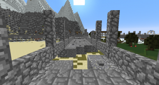 Play Temple Run in Minecraft