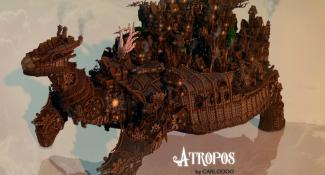 Explore Atropos, The Turtle That Carries a City