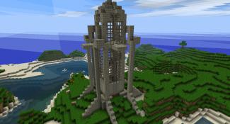 My Minecraft World(Creative) walkthrough 1