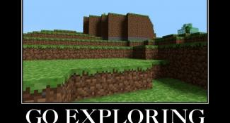Go Exploring, Never Find House Again – Minecraft Memes