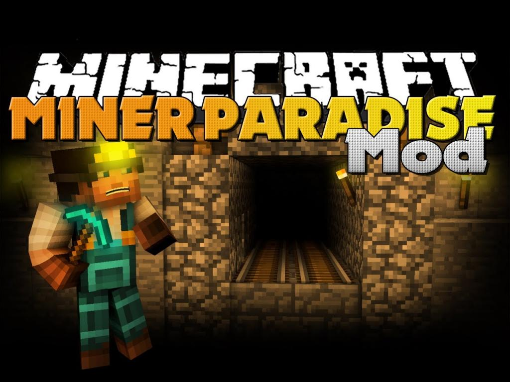 Minecraft Mod - Miner Paradise Mod - New Armor, Items, and Dimension