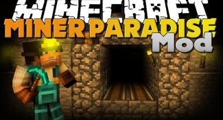 Minecraft Mod – Miner Paradise Mod – New Armor, Items, and Dimension