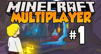 Minecraft Multiplayer 1.7: Let's Play – Episode 1 – VILLAGE + DIAMONDS! (1.7.4) [HD]
