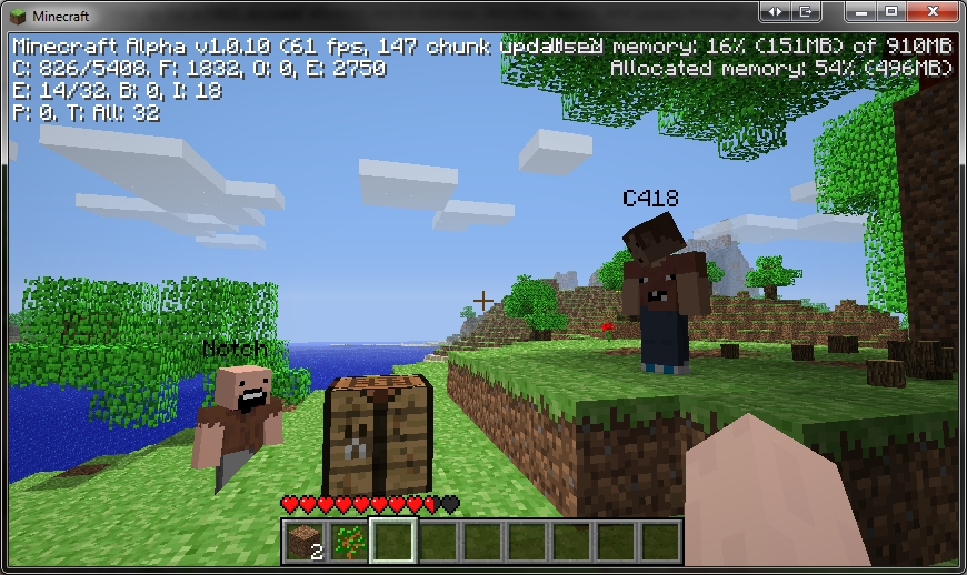 How to play minecraft ps3 two player without HDMI cable ...