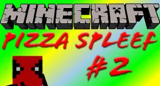 Minecraft Pizza Spleef #2 Minecraft Multiplayer Mini Games