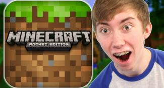 MINECRAFT: POCKET EDITION – Part 1 (iPhone Gameplay Video)