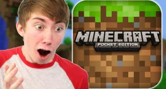 MINECRAFT: POCKET EDITION – Part 2 (iPhone Gameplay Video)