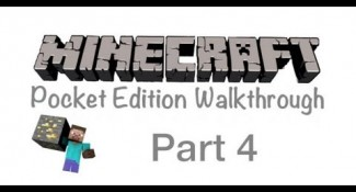 Minecraft Pocket Edition Walkthrough Part 4- Starting A Tree House