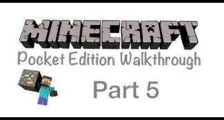 Minecraft Pocket Edition Walkthrough Part 5- Tree House Upgrade