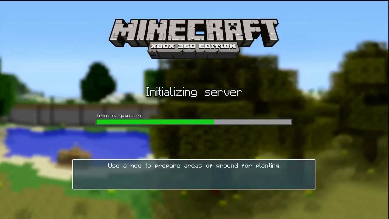 how to play xbox minecraft in 2 player