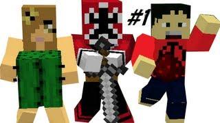 Minecraft - Multiplayer Walkthrough - Part 1 - The Gang