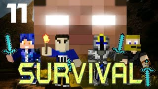 MULTIPLAYER MINECRAFT SURVIVAL: Nether Fortress!  Part 11