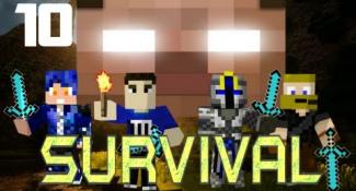 MULTIPLAYER MINECRAFT SURVIVAL: A Nether Fail!  Part 10