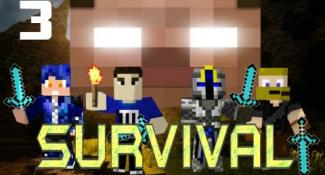 MULTIPLAYER MINECRAFT SURVIVAL w/ Minefirecharger & Friends! : Part 3 – David Blaine Sheep!