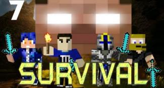 MULTIPLAYER MINECRAFT SURVIVAL w/ Minefirecharger & Friends! : Part 7 – Starving!