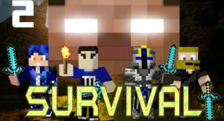 MULTIPLAYER MINECRAFT SURVIVAL w/ Minefirecharger & Friends! : Part 2 – This Isn't Jackass!