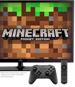 Minecraft on Fire TV