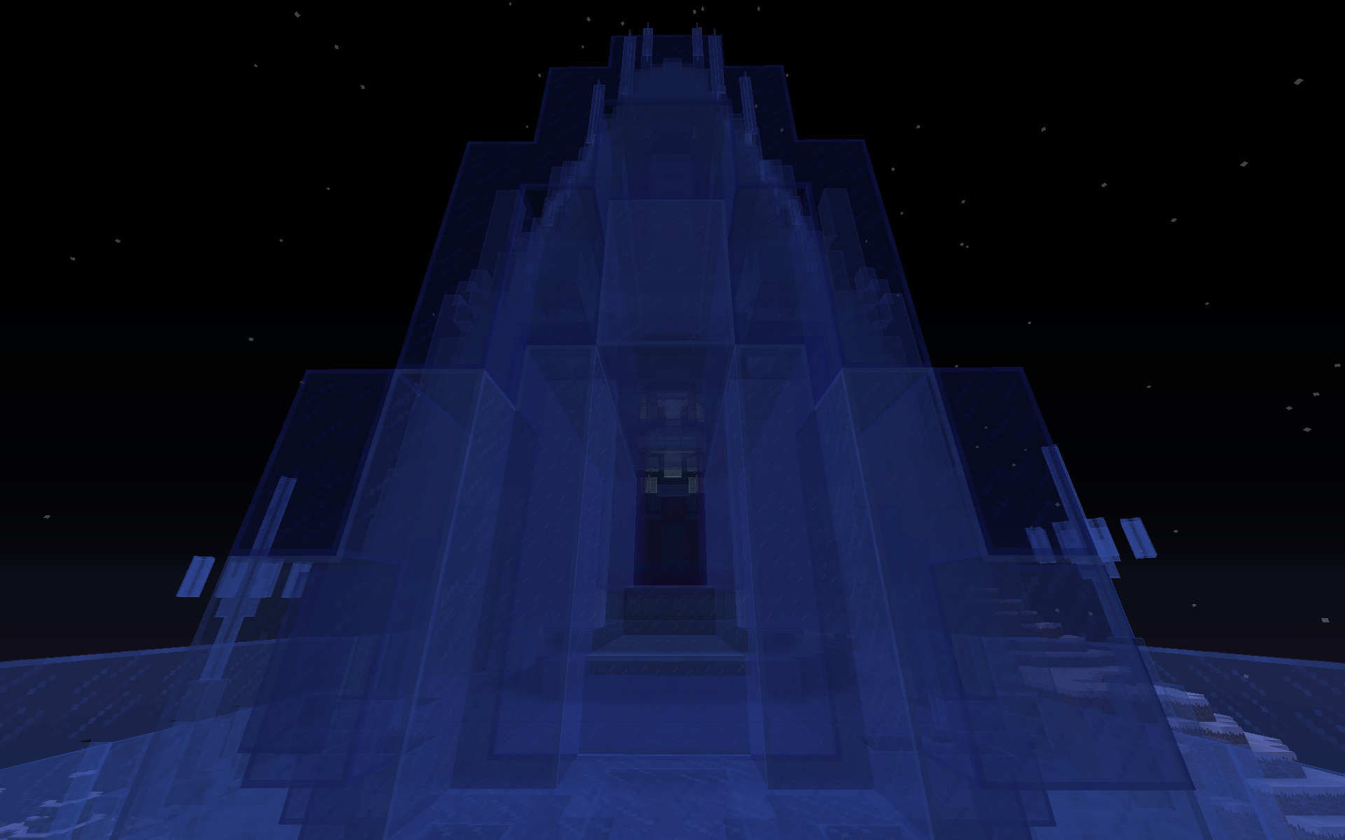 Frozen Ice Palace Front Gate