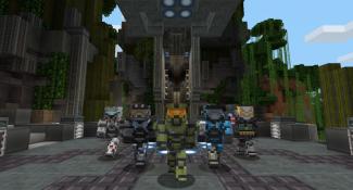 Minecraft Halo Mash-Up Pack Screens