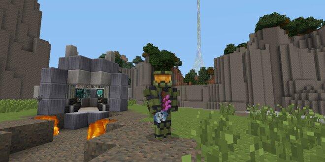 Halo Minecraft