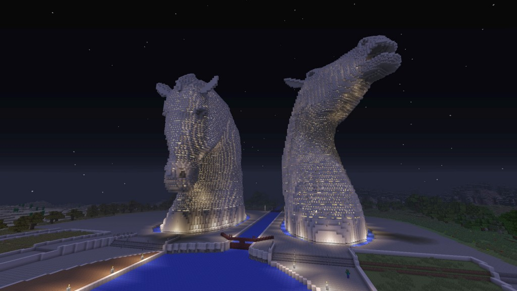 Minecraft Kelpies