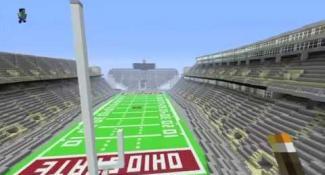 Virtual Ohio Stadium Has a Redstone Secret