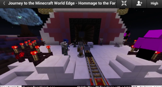 30,000 Kilometer Minecraft Minecart Ride Reaches Its End