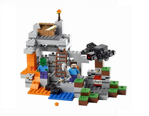 Minecraft Lego Cave