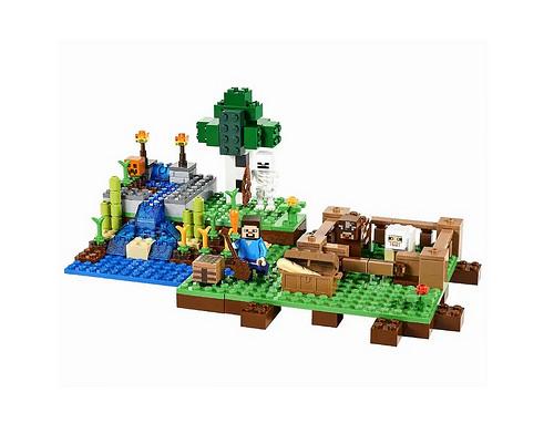 Minecraft Lego Farm