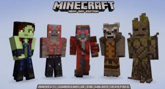 Guard the Minecraft Galaxy With Guardians of The Galaxy Skins