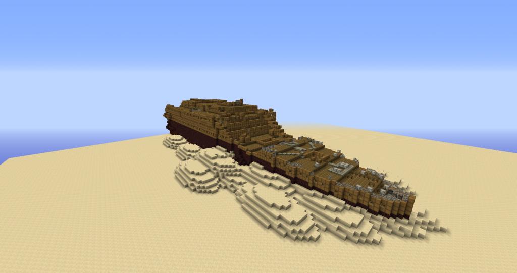 Карта: Титаник - Minecraft - Скачать карты для Майнкрафт ...