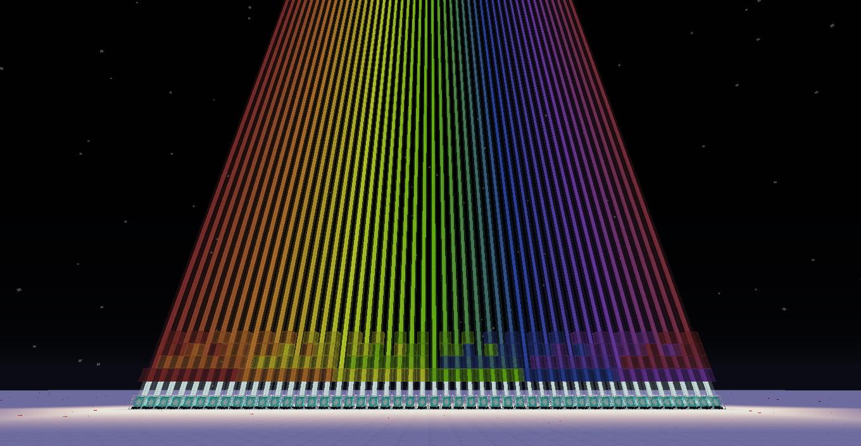 Colored Beacon Spectrum