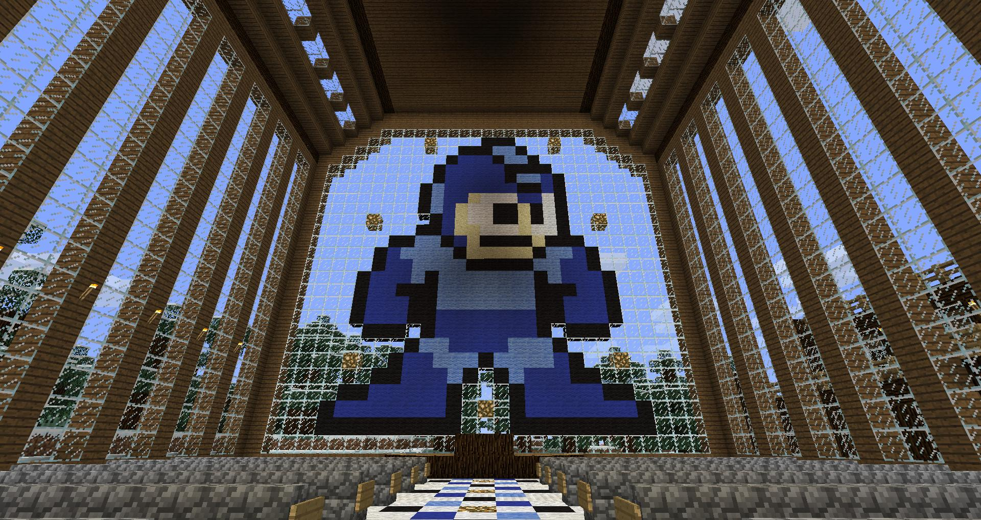 8-Bit Mega Man Church