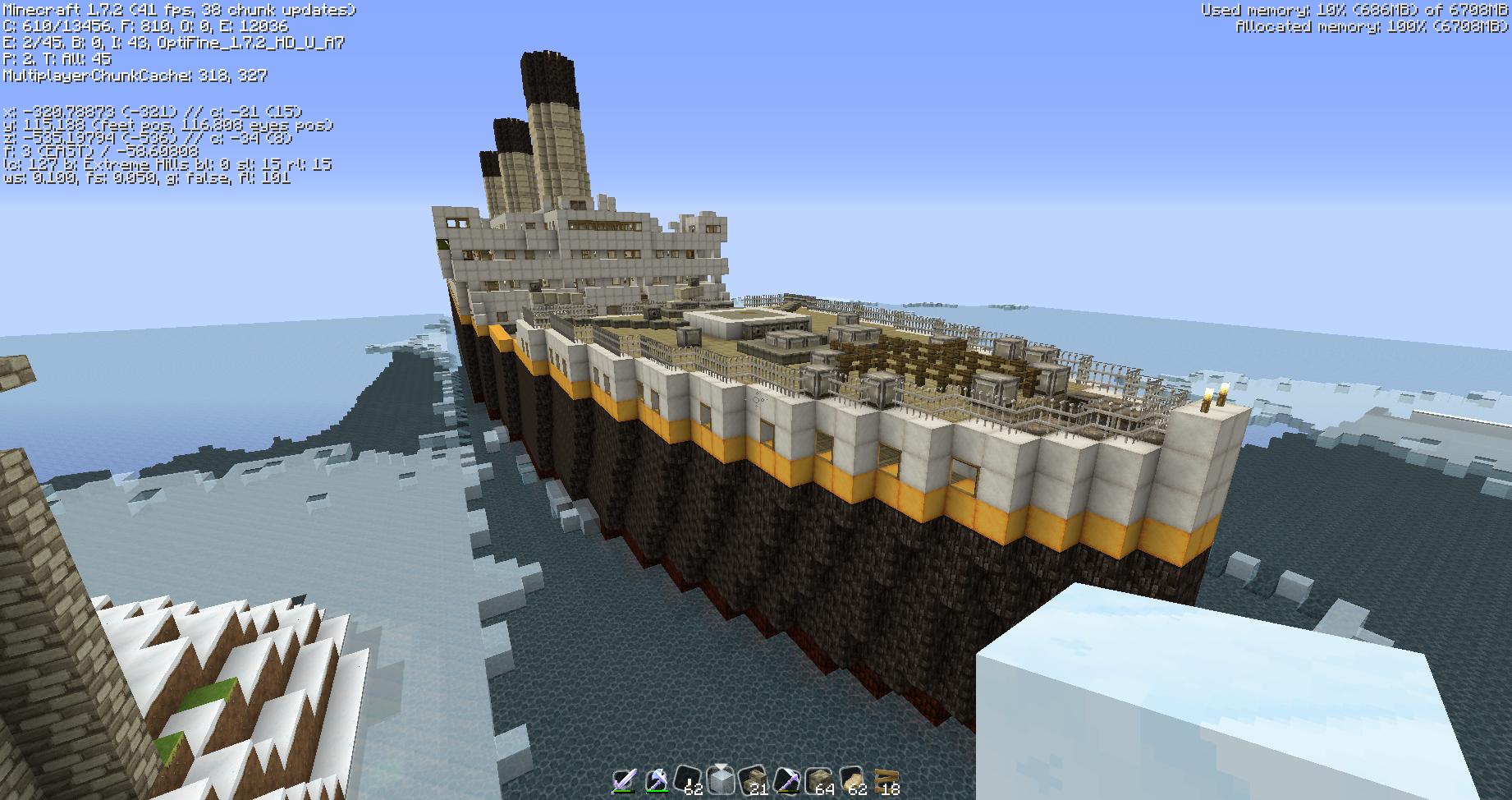 Titanic Unsunken