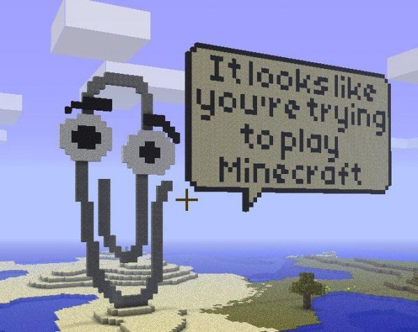 Clippy Minecraft