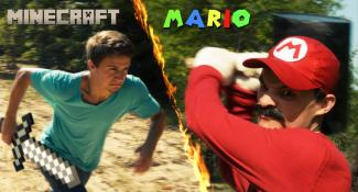 It's Steve vs. Mario in This Video Battle Royale