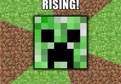 A Creeper's Joke – Minecraft Memes