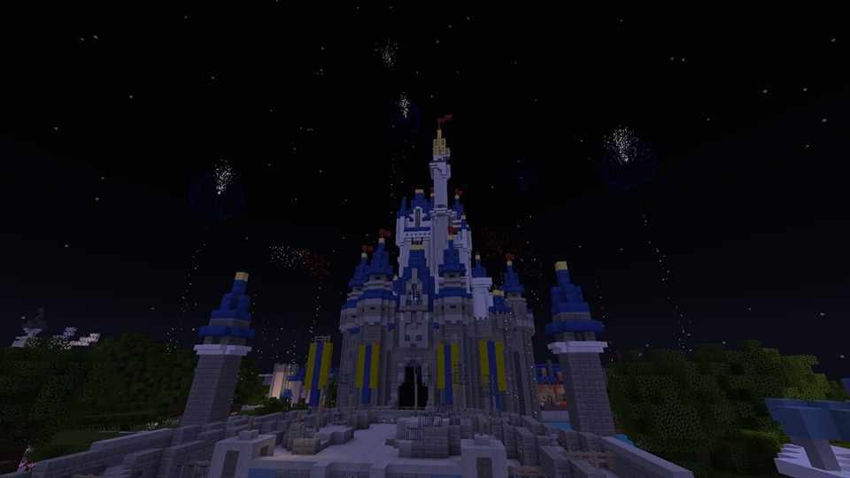 Minecraft Disney World