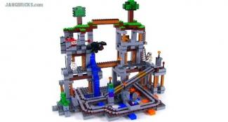 Review of Lego Minecraft's Biggest Set, 'The Mine'