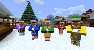 Minecraft Christmas Mashup Pack Out Now on Xbox