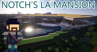 You Can Live in Notch's $70 Million Mansion, in Minecraft