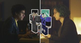 A Minecraft Love Story in 'Tree Punch Love'