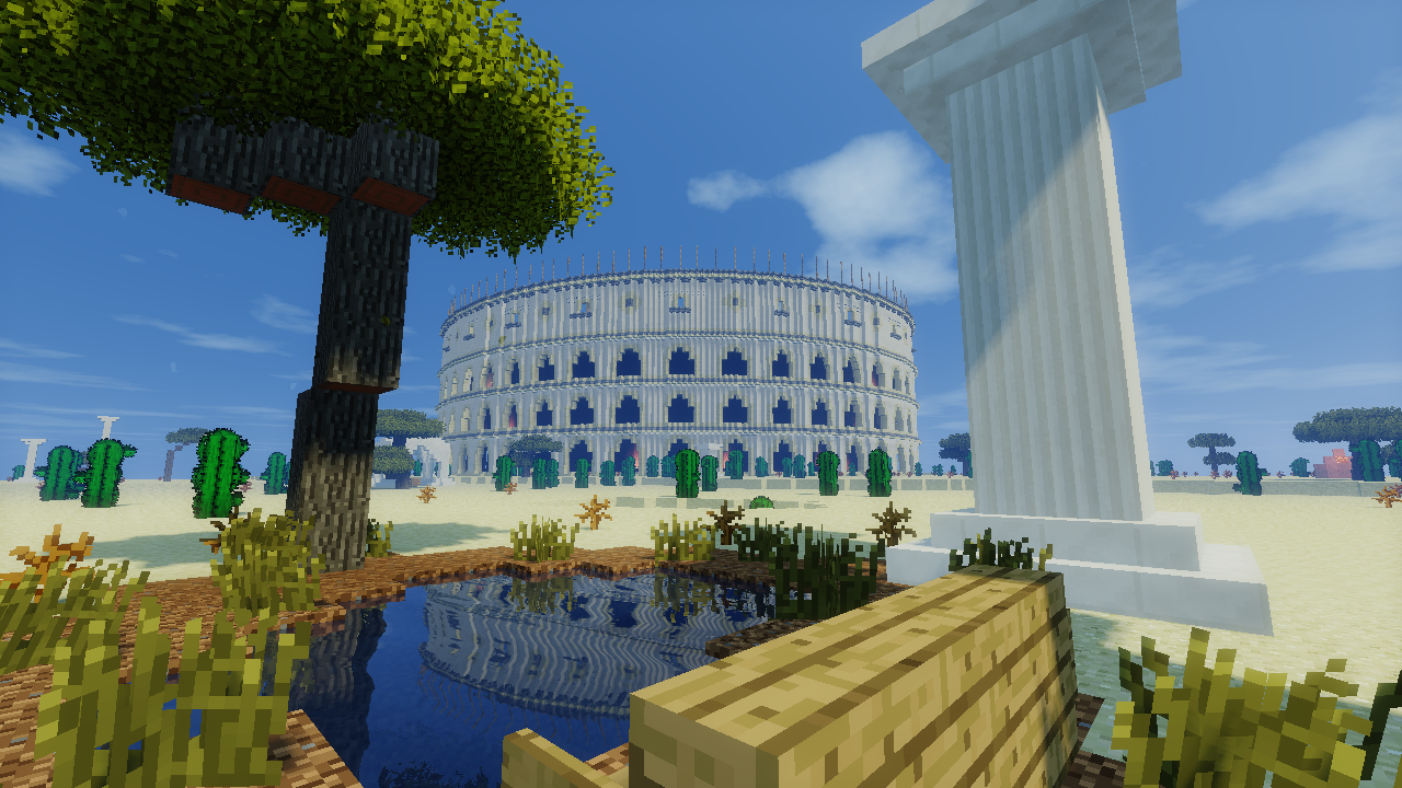 The Wonders of the World Come to Life on Minecraft Adventure Map ...