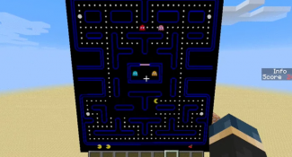 Pac-Man Remade Within Minecraft