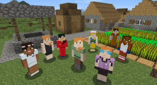 Today In Minecraft, Steve Is Joined By Alex