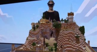 Microsoft Demonstrates Minecraft On Hololens