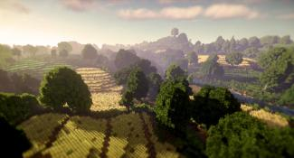 JRR Tolkien's Shire Recreated In Minecraft — And How!