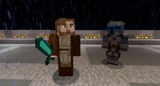 New Star Wars Themed Minecraft Skin Pack Now Available