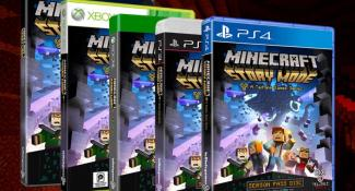 New Minecraft Story Mode Trailer, Hollywood Premiere Announced